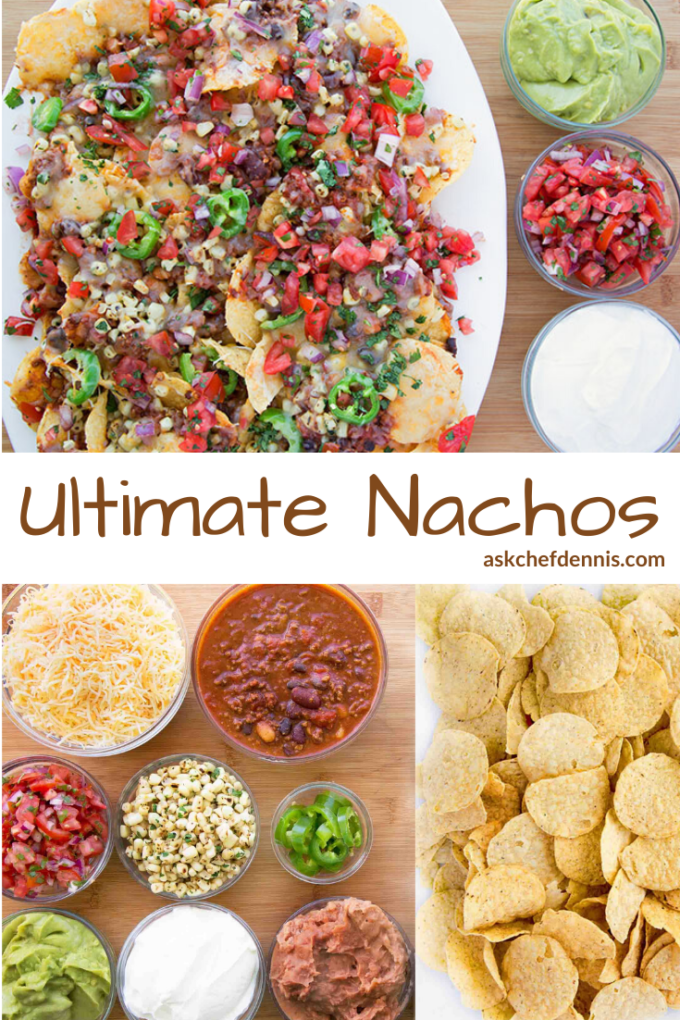 Pinterest image for ultimate nachos
