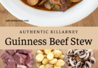 Pinterest image for Guinness beef stew