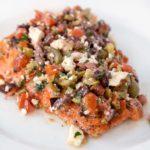 Mediterranean Style Salmon Recipe – Chef Dennis