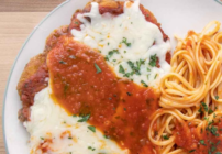 pinterest image for chicken parm