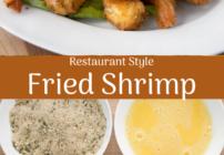 pinterest image for fried shrimp