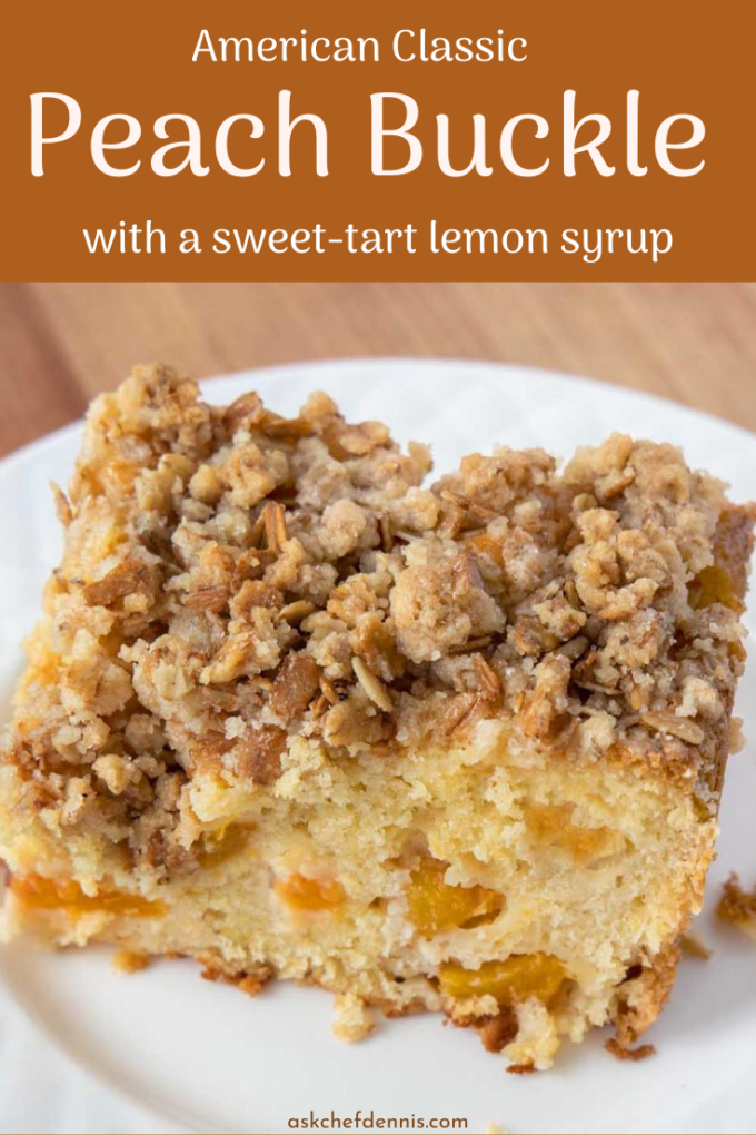 Pinterest image for peach buckle