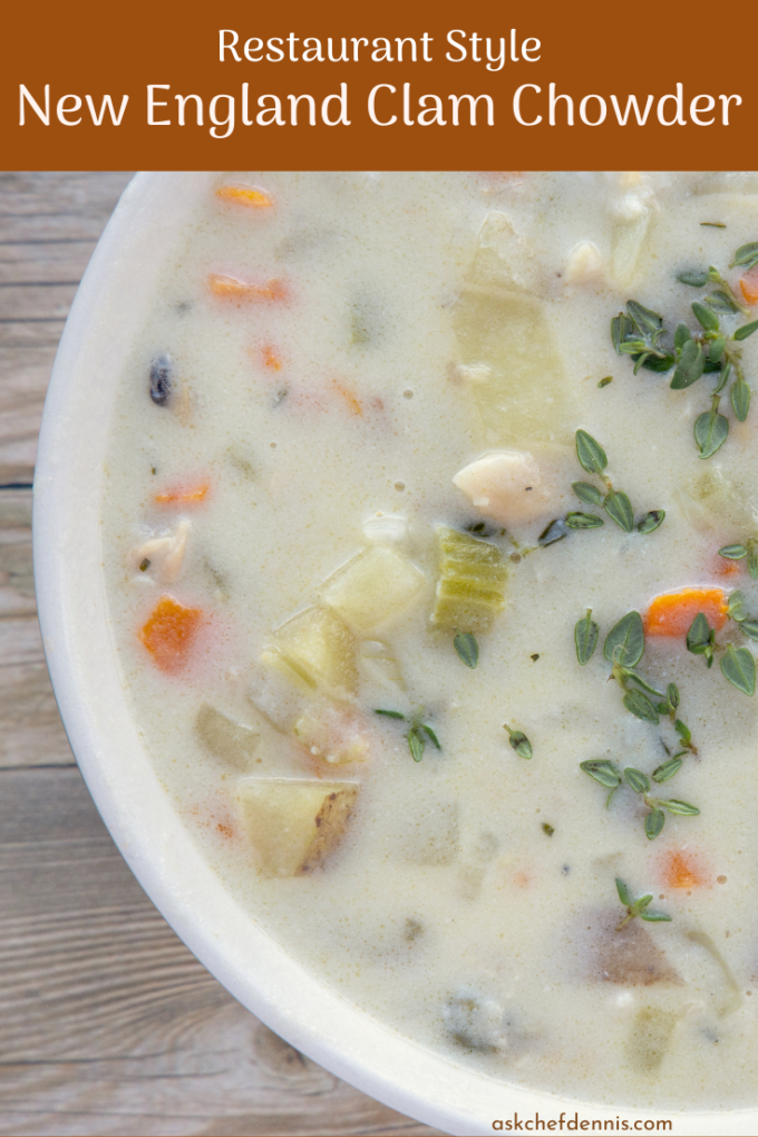 pinterest image for new england clam chowder