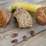 Banana Pecan Muffins – Coffee Shop Style