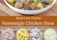 pinterest image for chicken stew