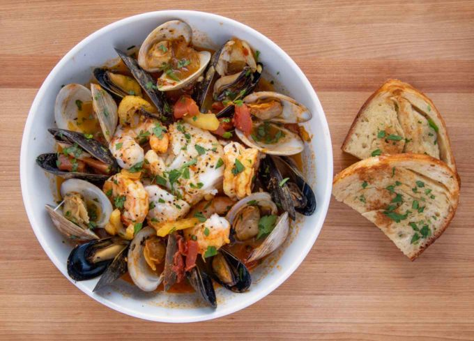 Spicy Spanish Seafood Stew Recipe - Chef Dennis