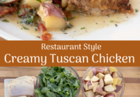 Pinterest image for Creamy Tuscan Chicken