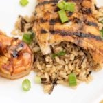 Grilled Alaskan Rockfish with Grilled Shrimp