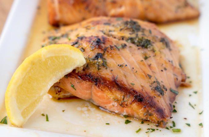 Irish Whiskey Salmon wrapped with Smoked Salmon | Chef Dennis