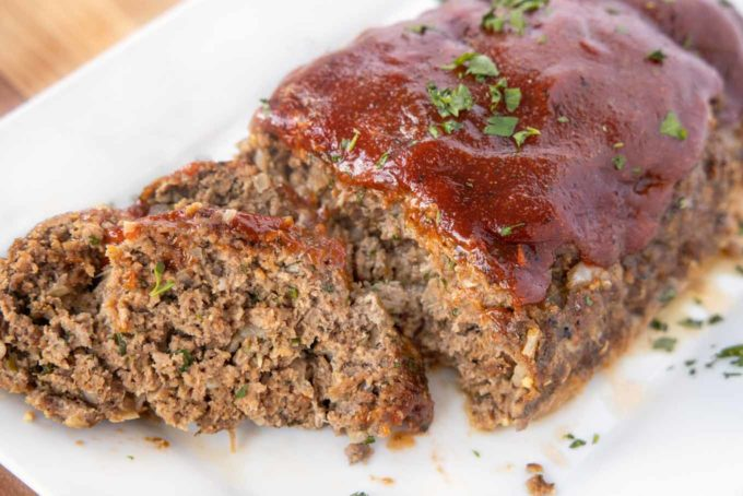 Diner Style Meatloaf Recipe - American Classic | Chef Dennis