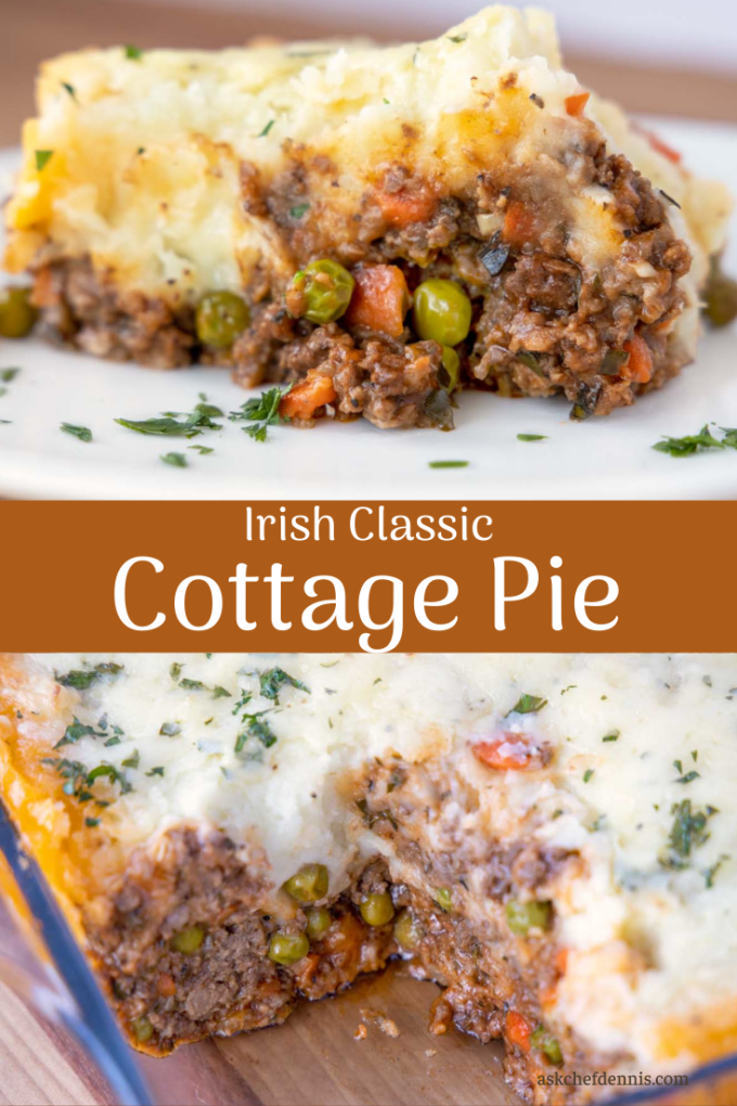 Pinterest image for Cottage Pie