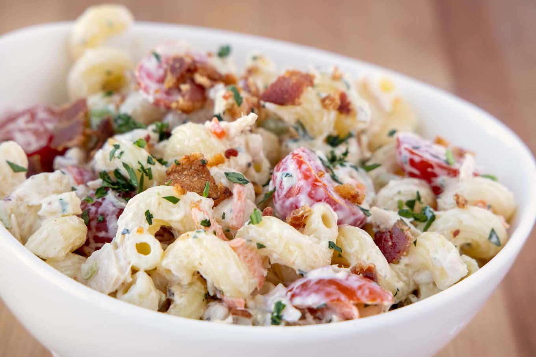 Tuna Macaroni Salad Deluxe - American Classic | Chef Dennis