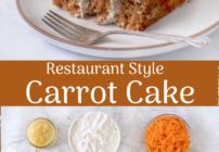 Pinterest images for carrot cake