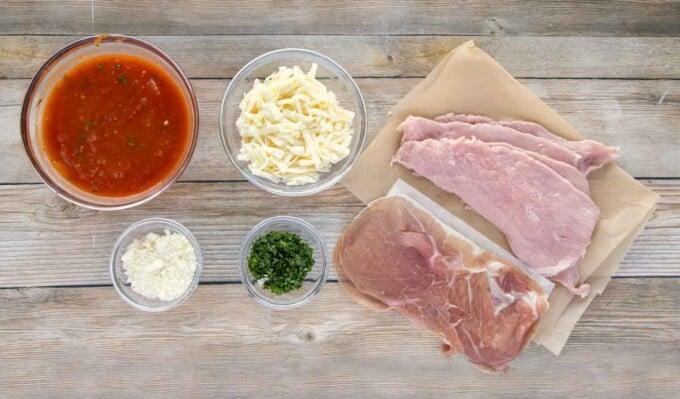 ingredients to make veal parm
